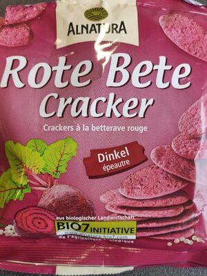 Rote bete cracker - Prodotto - de
