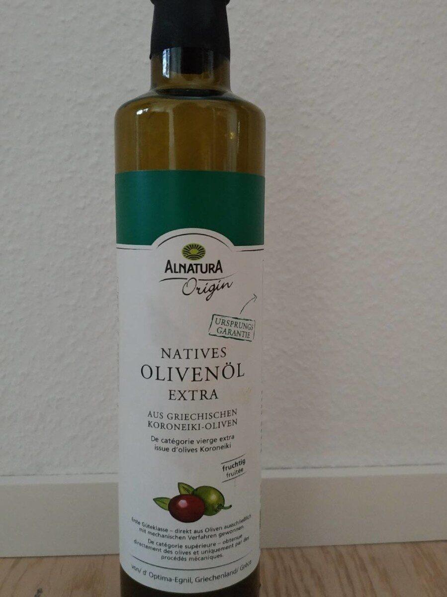 Huile d'olive vierge extra bio - Produit - de