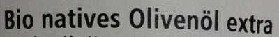 Huile d'olive vierge extra bio - Ingredients - de