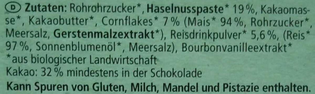 Flakes & Haselnuss - Ingredienti - de