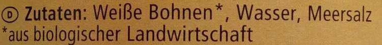 Weiße Bohnen - Ingredients - de
