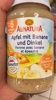 Pomme avec banane et épeautre - Product