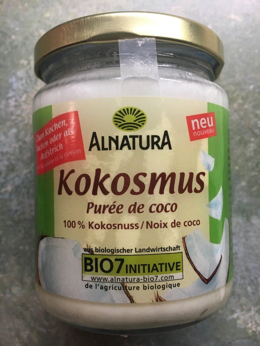 Kokosmus - Produit
