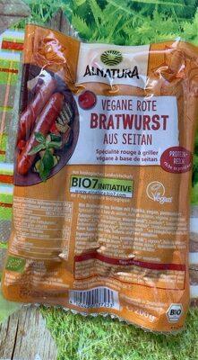 Vegan Rote Bratwurst aus seitan - Prodotto - de