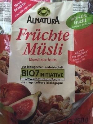 Alnatura Früchte Müsli - Produkt - fr