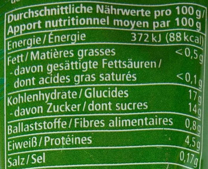 Tomatenmark - Nutrition facts