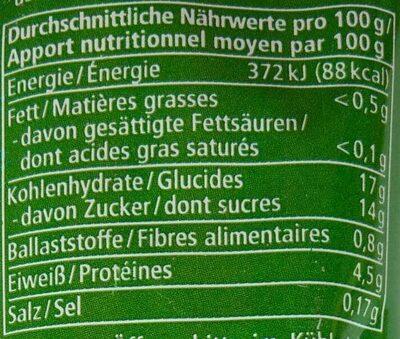 Tomatenmark - Valori nutrizionali - de