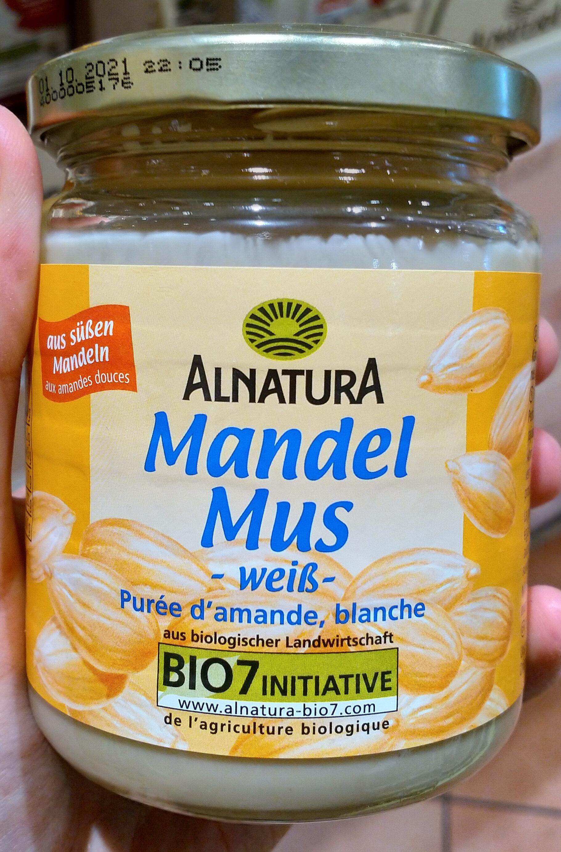 Mandel Mus weiß - Product - de