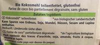 Kokosmehl - Ingredients