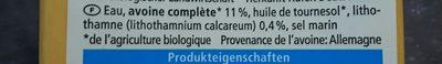Hafer Drink Calcium - Ingrédients - fr