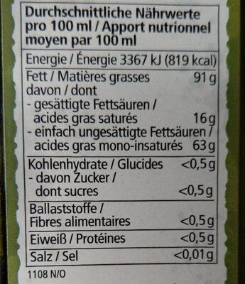 Hafer Drink Ungesüßt - Nutrition facts - fr