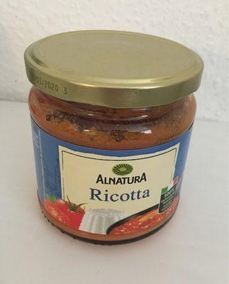 """Alnatura Ricotta Tomatensauce , (""""neue Rezept. .. - Product"""