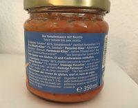 """Alnatura Ricotta Tomatensauce , (""""neue Rezept. .. - Ingrediënten"""