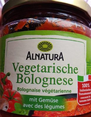 Alnatura Vegetarische Bolognese - Product - fr