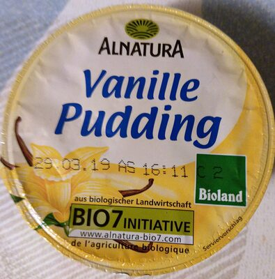 Vanille Pudding - Produkt - de