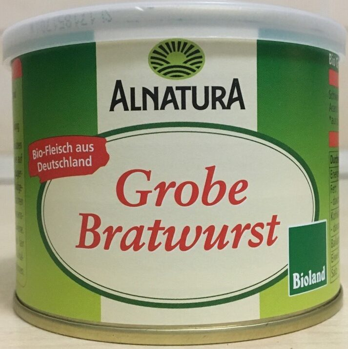 Grobe Bratwurst - Produkt
