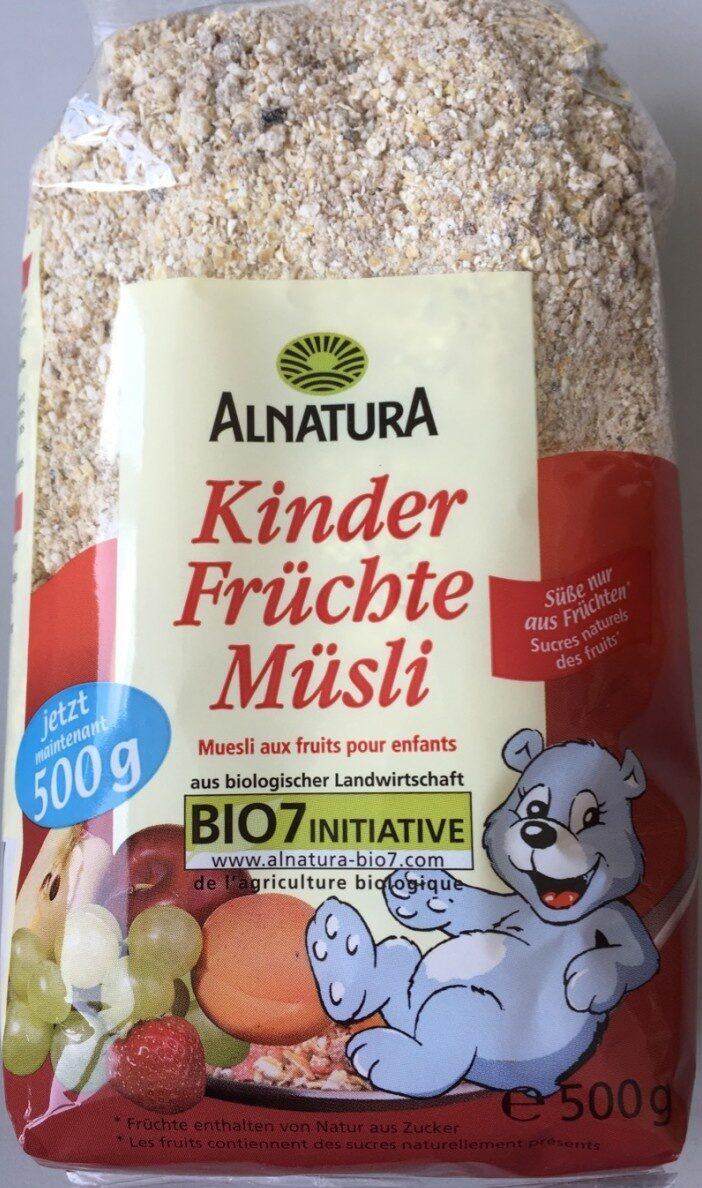 Kinder Fruchte Musli - Product