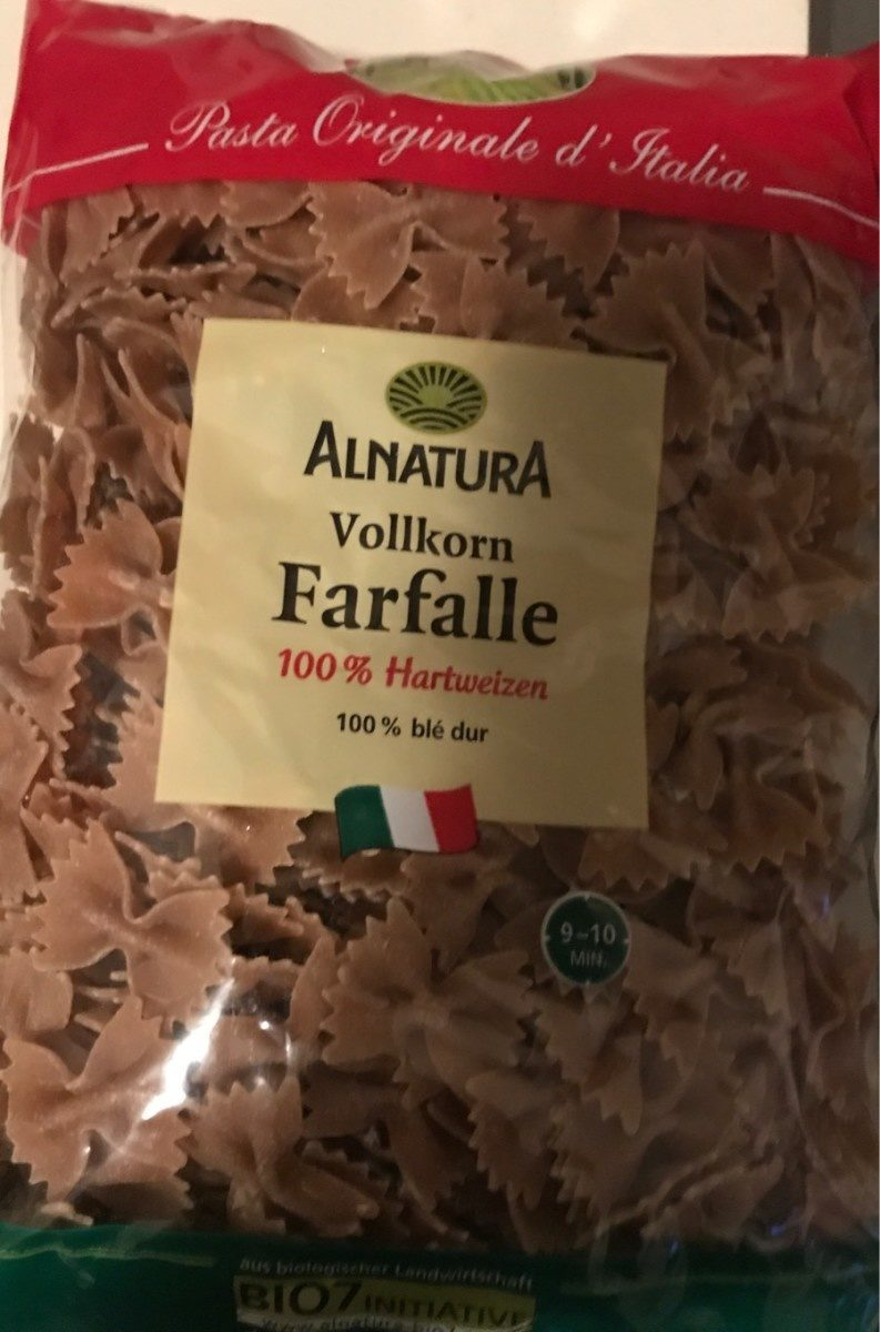 Vollkorn Farfalle No. 37 - Produit - fr