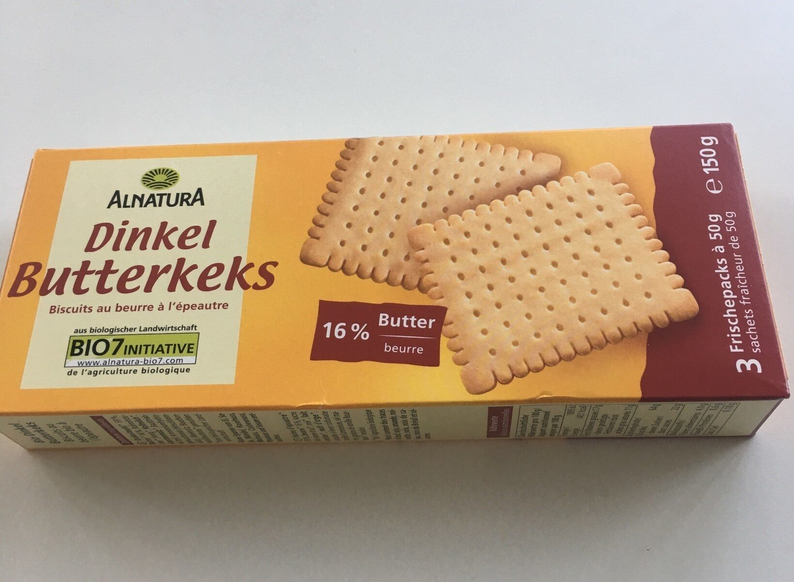 Dinkel Butterkeks - Product - de