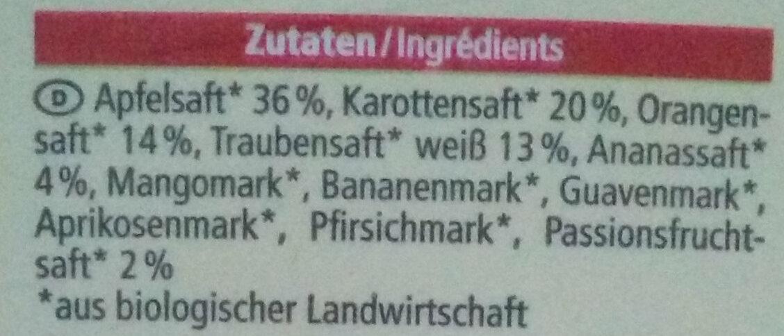 Multisaft - Ingredients - de