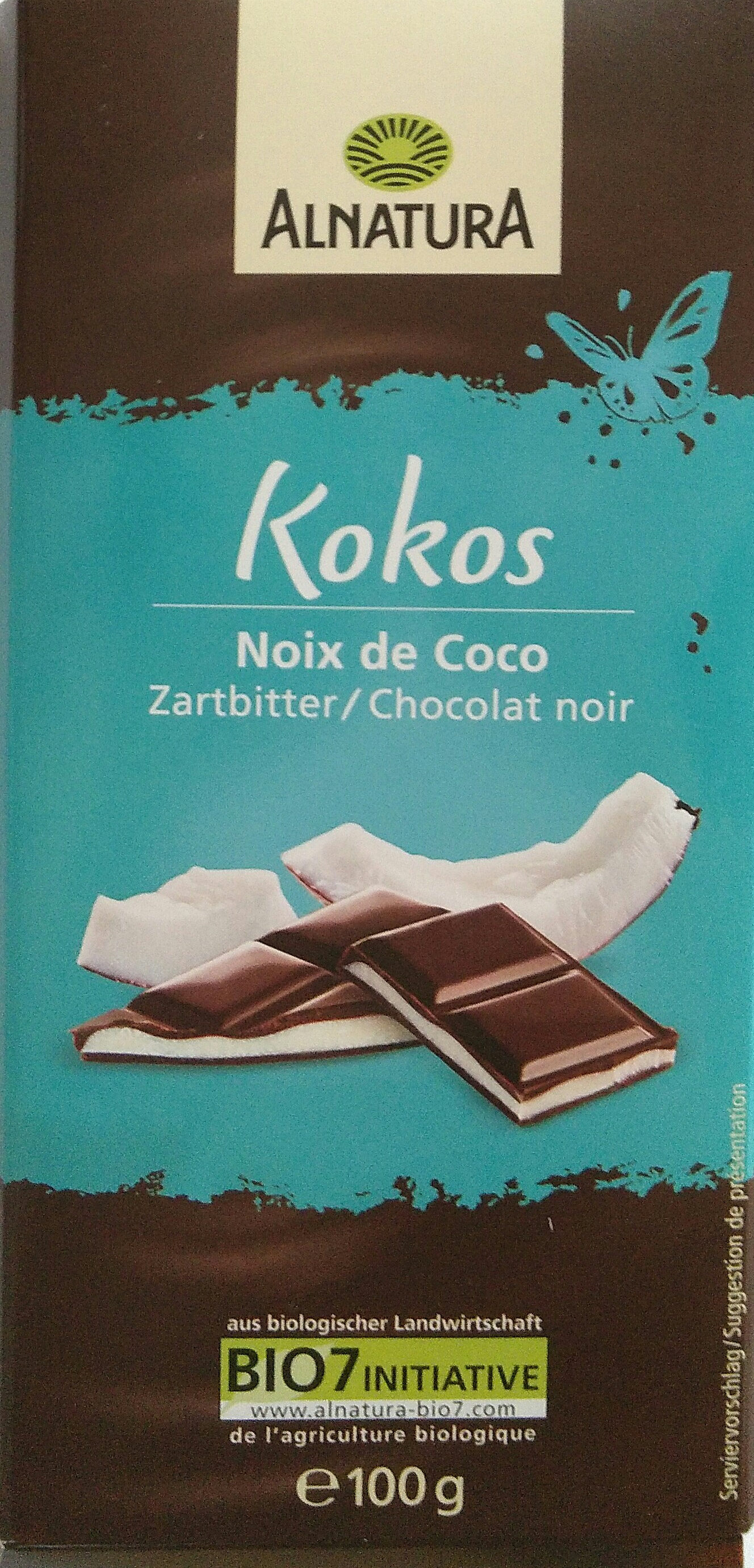 Zartbitter Kokos - Product - de