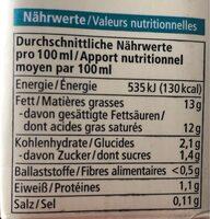 Kokos Cuisine - Información nutricional - es