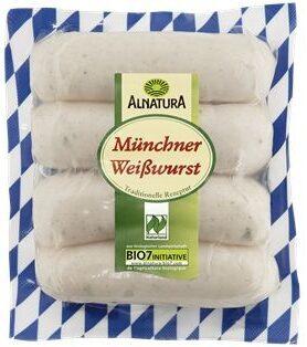 Alnatura Münchner Weißwurst - Product