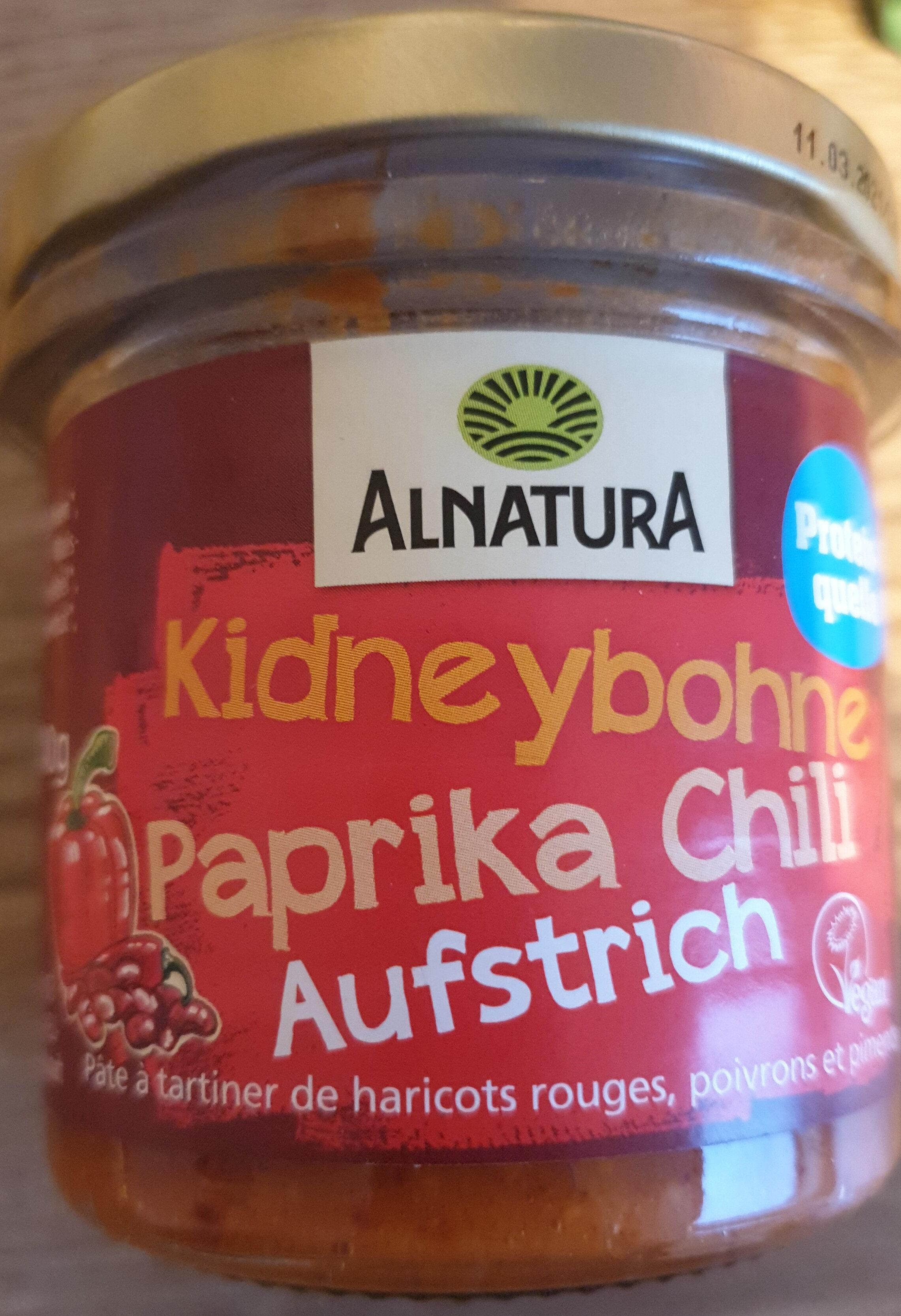 Kidneybohne Paprika Chili Aufstrich - Product