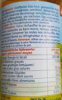 Couscous méditerranée art - Valori nutrizionali - fr