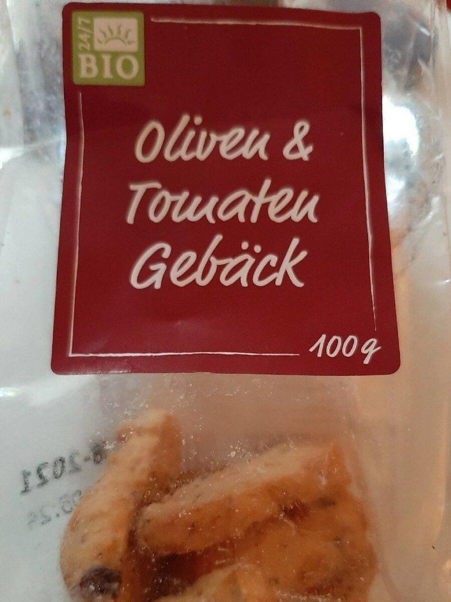 Oliven & Tomaten Gebäck - Produkt - de