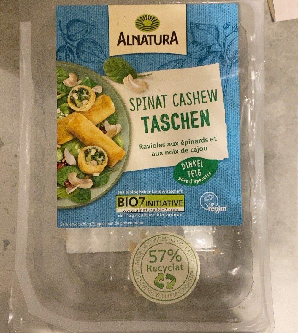 Spinat Cashew Taschen - Produit - fr