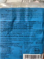 Spinat Cashew Taschen - Ingrédients - fr
