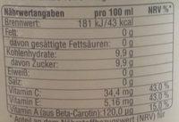 ACE Vitak - Informations nutritionnelles - de