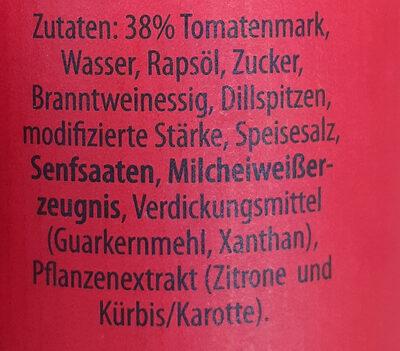 cocktail sauce - Zutaten - de