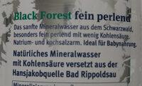 Black Forest fein perlend - Zutaten - de