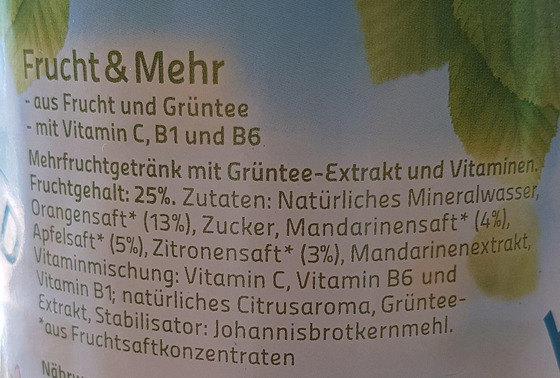 Hochwald Frucht & Mehr - Ingredients - de