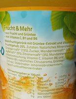 Hochwald Frucht & Mehr - Inhaltsstoffe