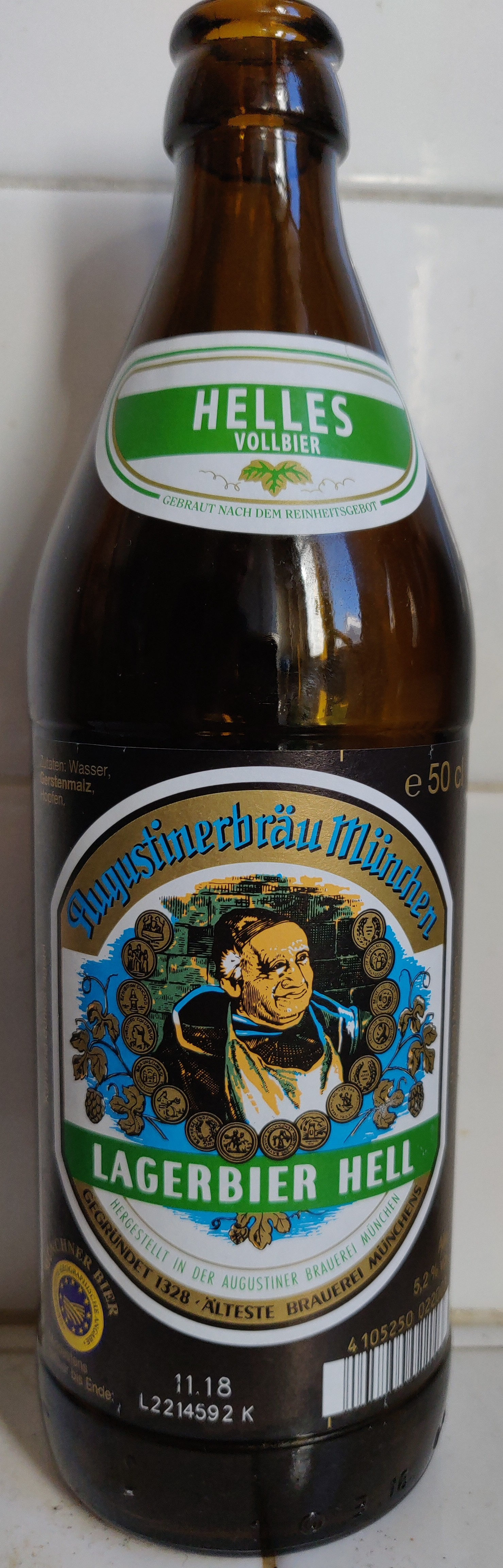 Lagerbier Hell - Product