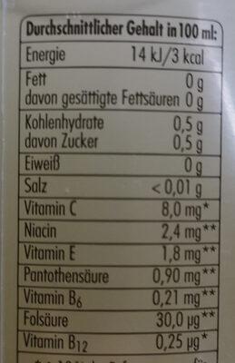 Grapefruit - Informations nutritionnelles
