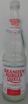Brandenburger Quell Mineralwasser Naturell - Produkt