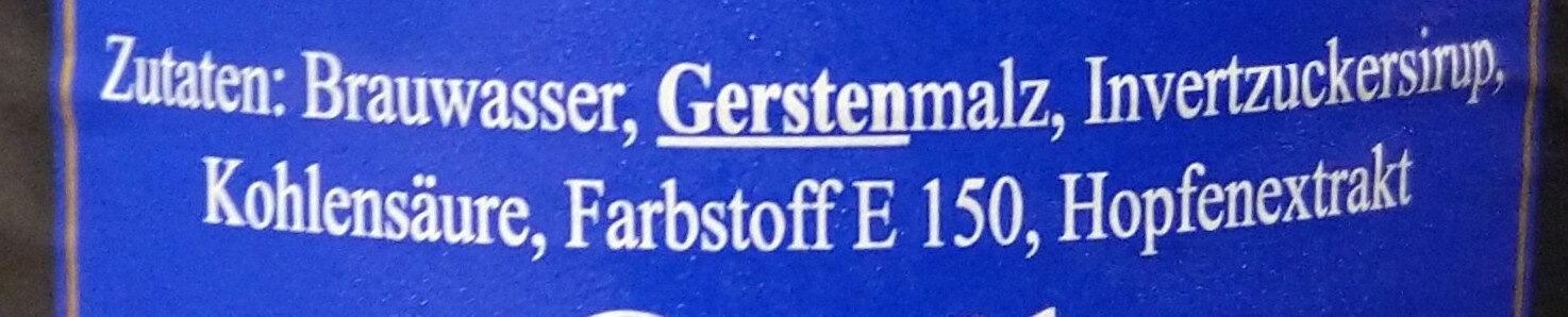 Doppelkaramel - Ingredienti - de