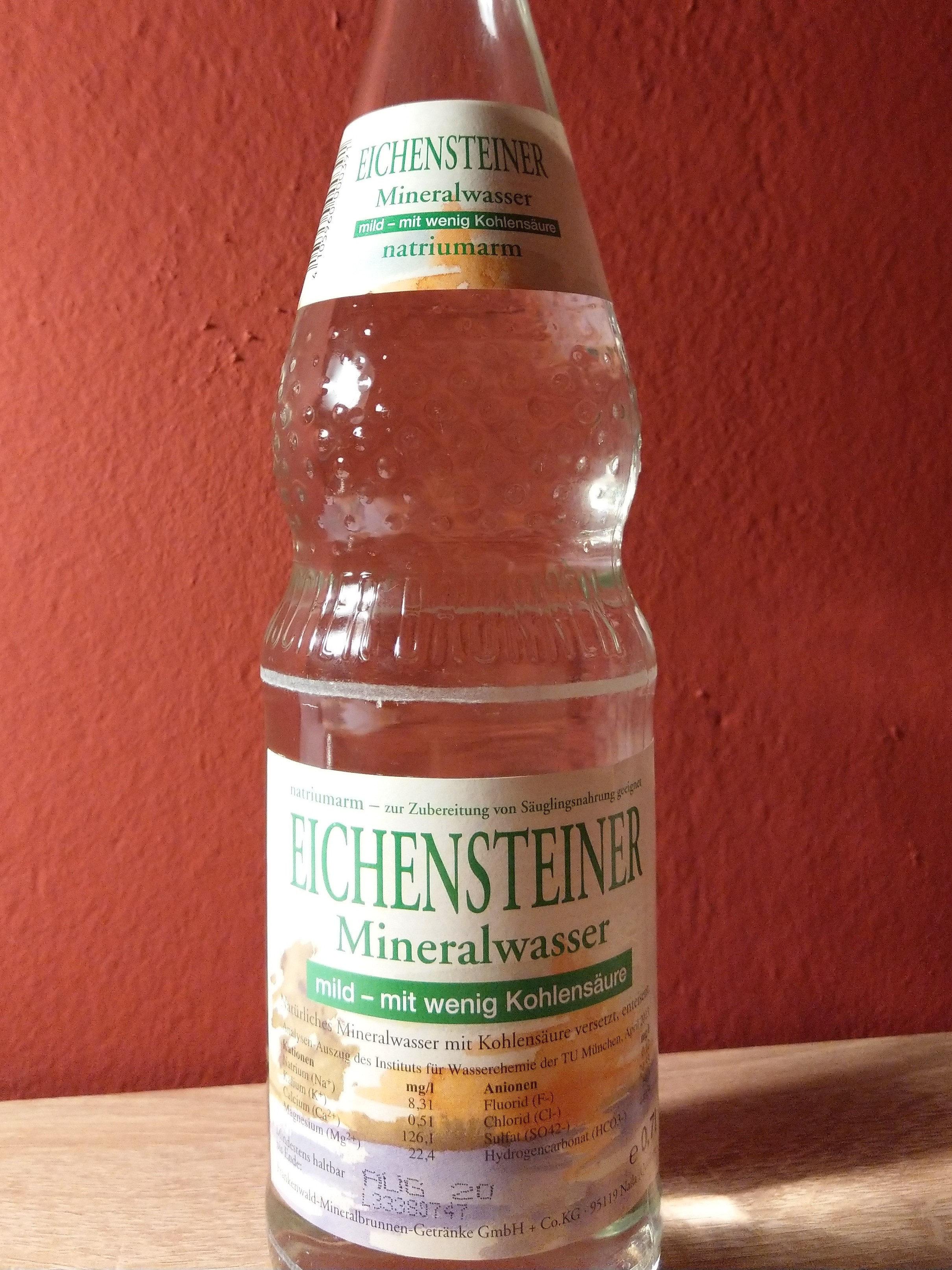Eichensteiner Mineralwasser - Produkt - de