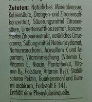 deit zuckerfrei Limette - Ingredients