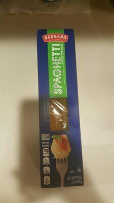 Reggano Pasta - Ingrédients - en