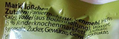 Markklößchen - Inhaltsstoffe