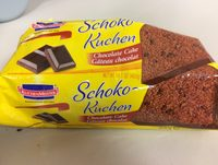 Schoko-Kuchen - Gâteau au Chocolat - Informations nutritionnelles