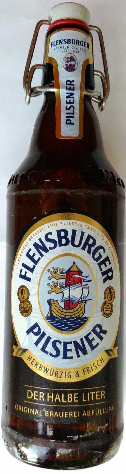 Flensburger Pilsener - Produkt