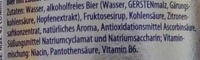 Flens Fassbrause Zitrone - Ingredients
