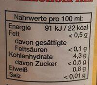 Hefeweizen Alkoholfrei - Informations nutritionnelles - fr