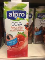 Soya fruit rouge - Product